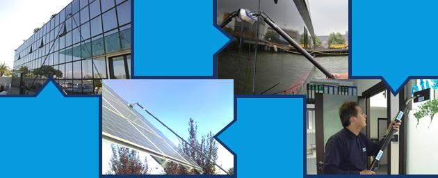 συστήματα καθαρισμού παραθύρων | καθαρισμός φωτοβολταϊκών πανελ
